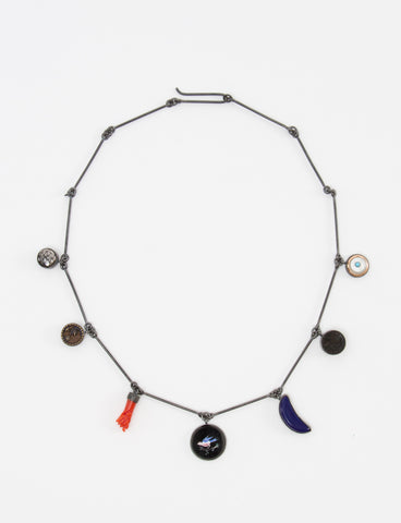 Seven X Wire Charm Necklace - GRAINNE MORTON