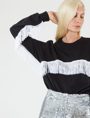 Fringe Longsleeve Tee Cotton - Creatures of Comfort
