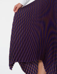 Knowles Skirt Striped Viscose