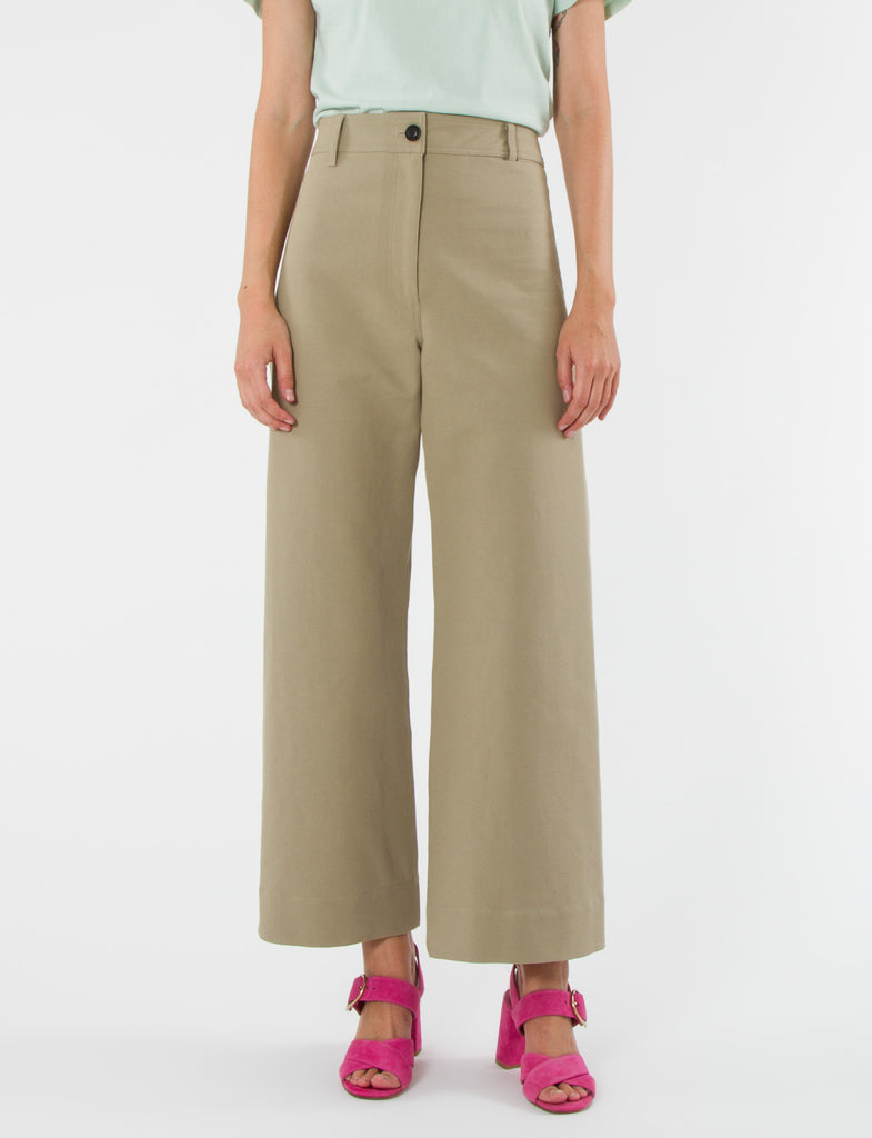 Maison Pant Cotton Twill