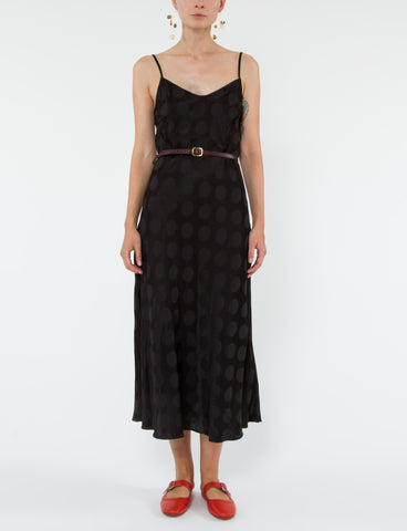 Cara Dress Polka Dot Jacquard