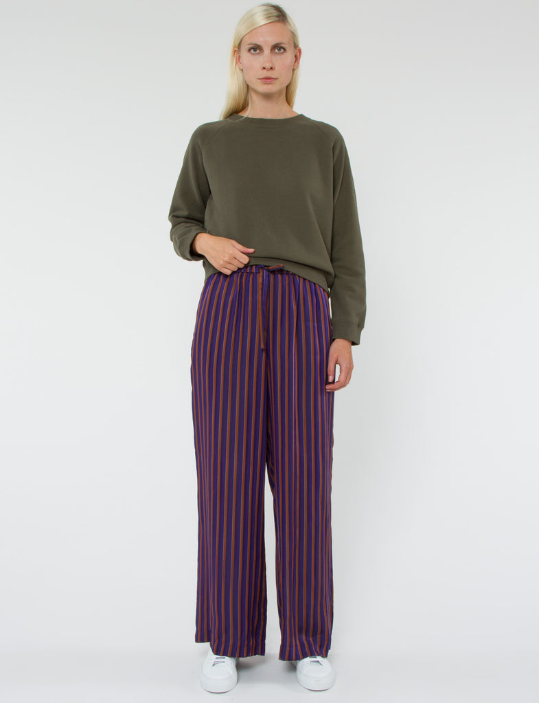 Pursuit Pant Striped Viscose