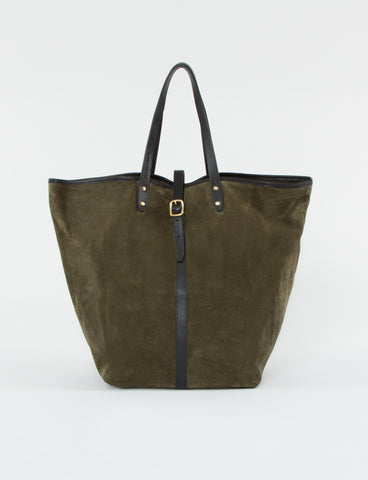 Market Bag Tall Suede