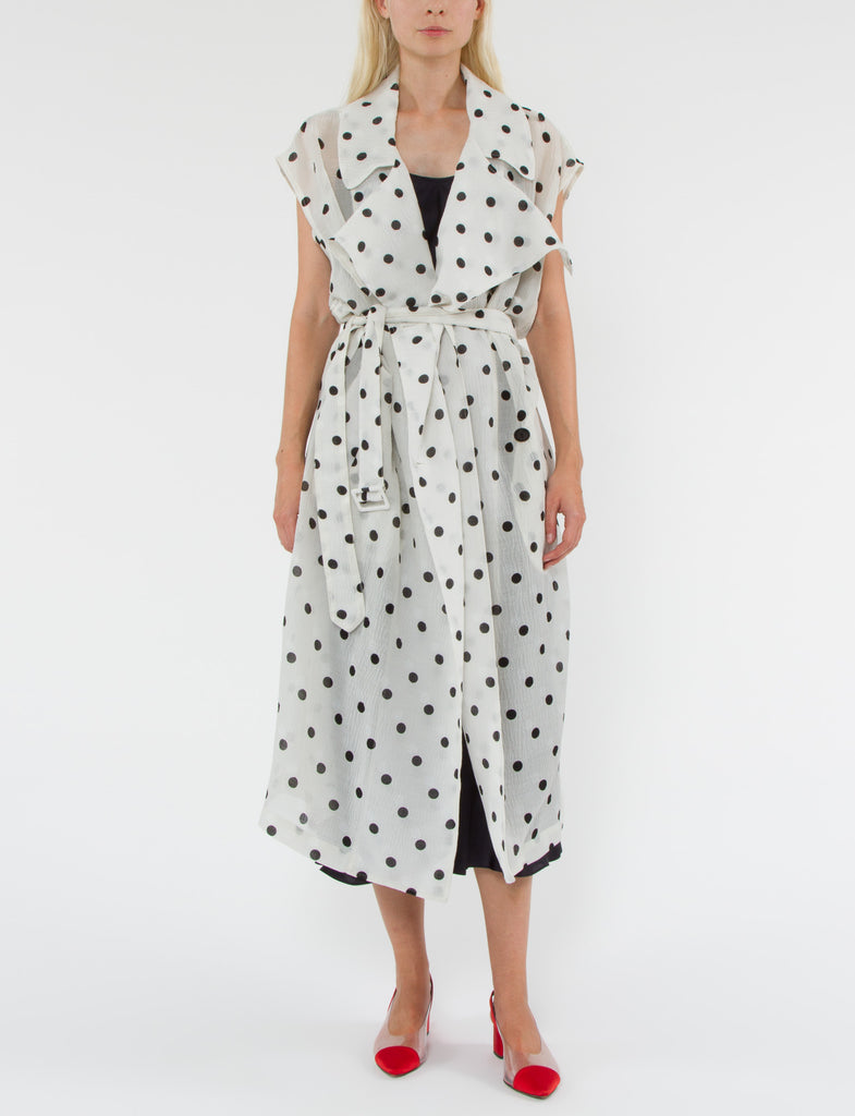 Graham Dress Silk Wool Dot