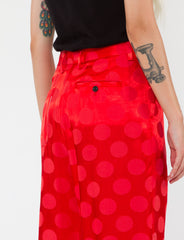 Harriette Pant Polka Dot Jacquard