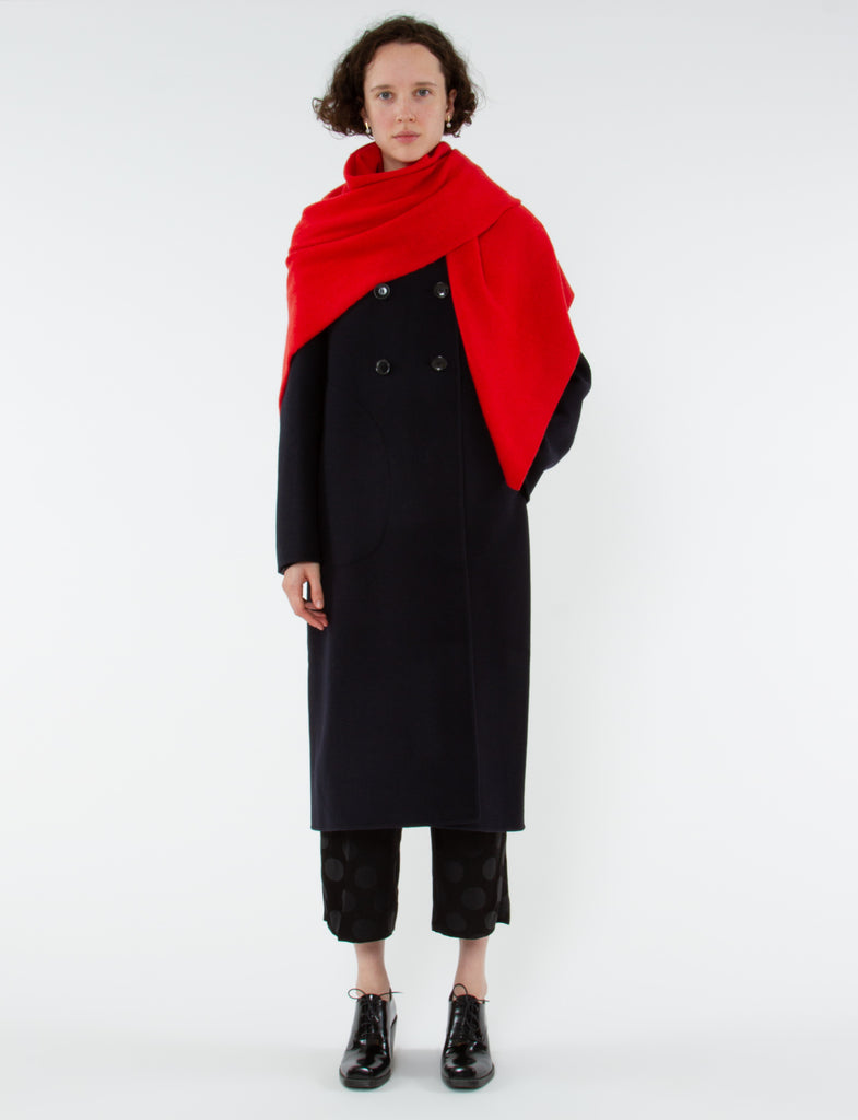 Commit Coat Double Faced Wool