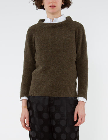 Puff Neck Sweater Mousse