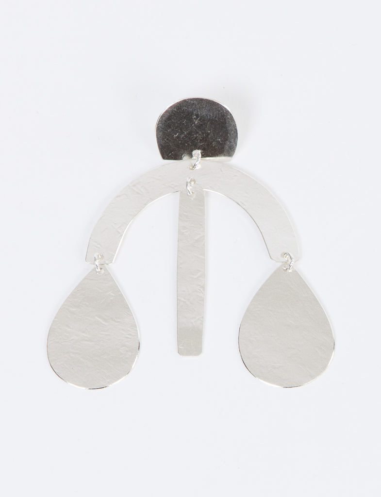 Mini Arc Drop Earrings - ANNIE COSTELLO BROWN