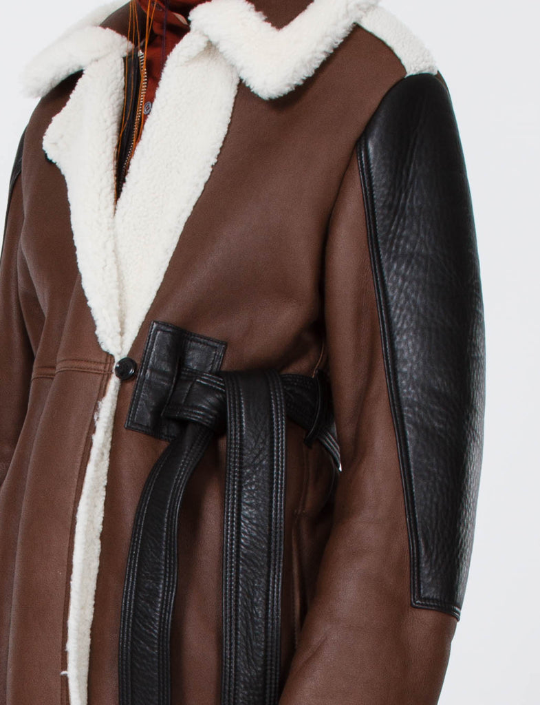 Fergus Leather Coat