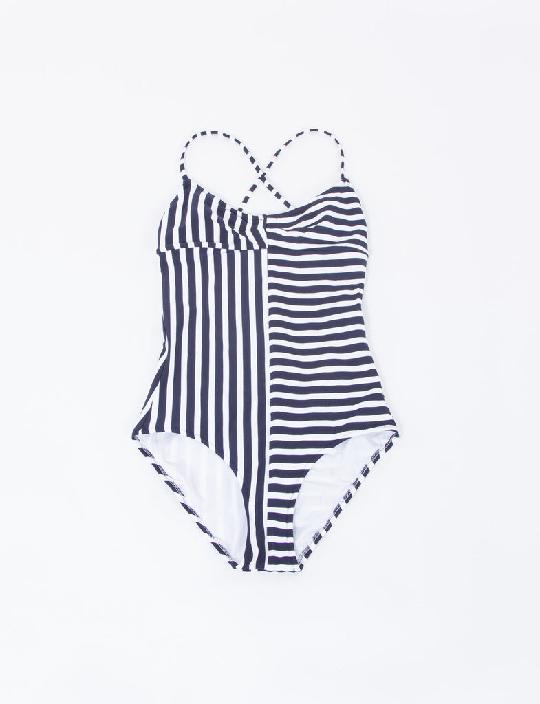 Emeline Stripe One Piece