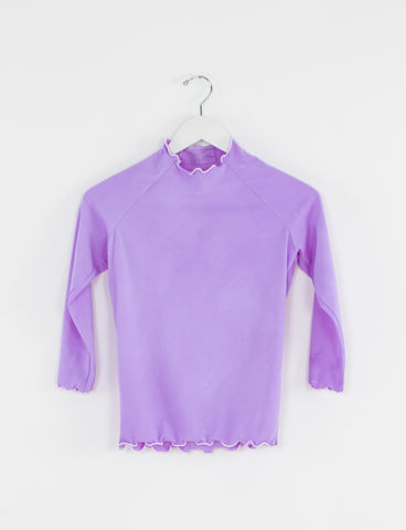 Long Sleeve Top Ruffled