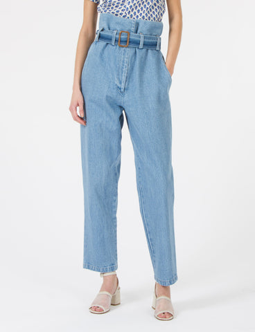 Dover Pant Faded Denim