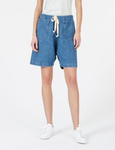 Gwyn Short Faded Denim