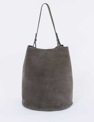 Bucket Bag Large Suede