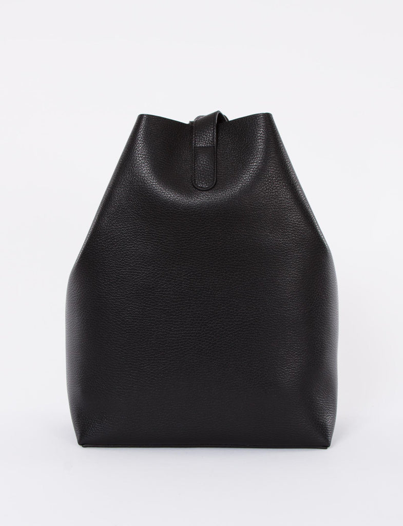 Apple Bag Large Pebbled Leather