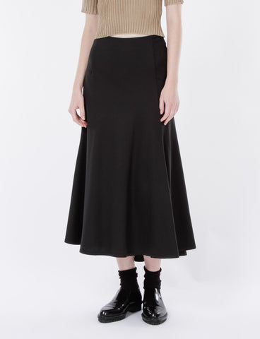 Aubrey Skirt Wool Suiting