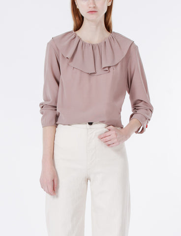Casper Top Wool Crepe