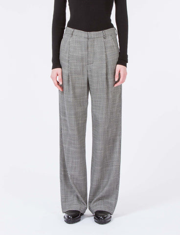 Harriette Pant Wool Jacquard