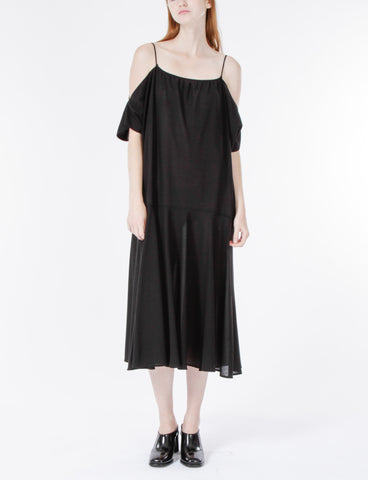 Holmes Dress Wool Crepe