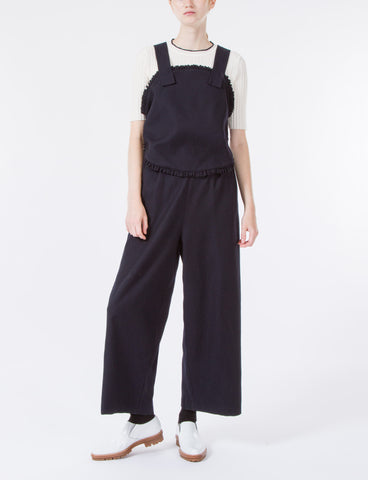 Irvine Jumpsuit Crease Wool