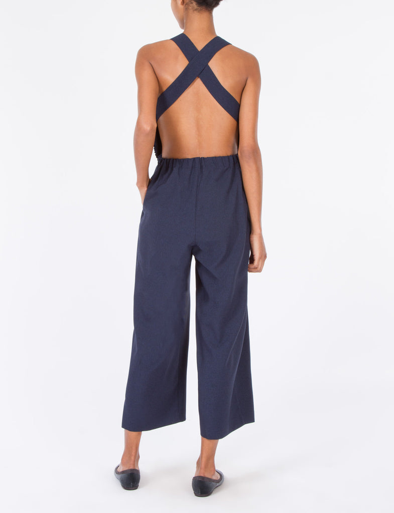 Irvine Jumpsuit Poly Suiting