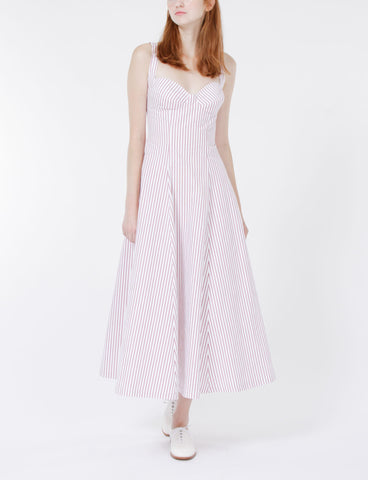 Mali Dress Striped Shirting
