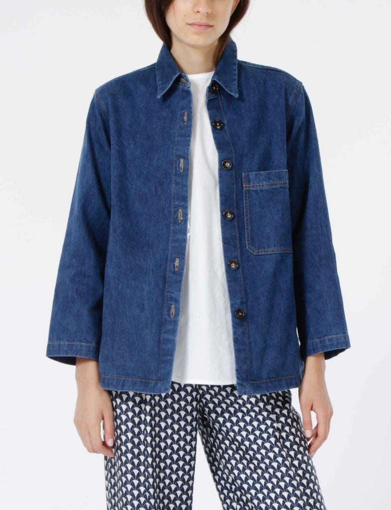 Perry Top Denim