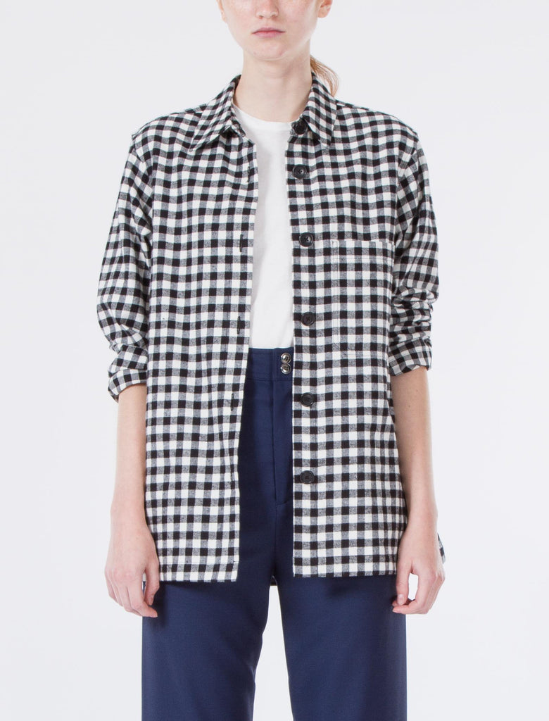 Perry Top Flannel Check