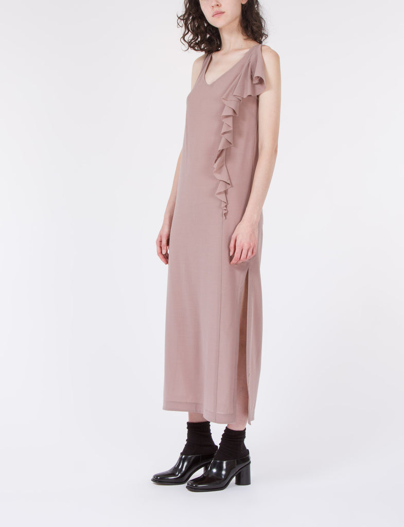 Robert Dress Wool Crepe