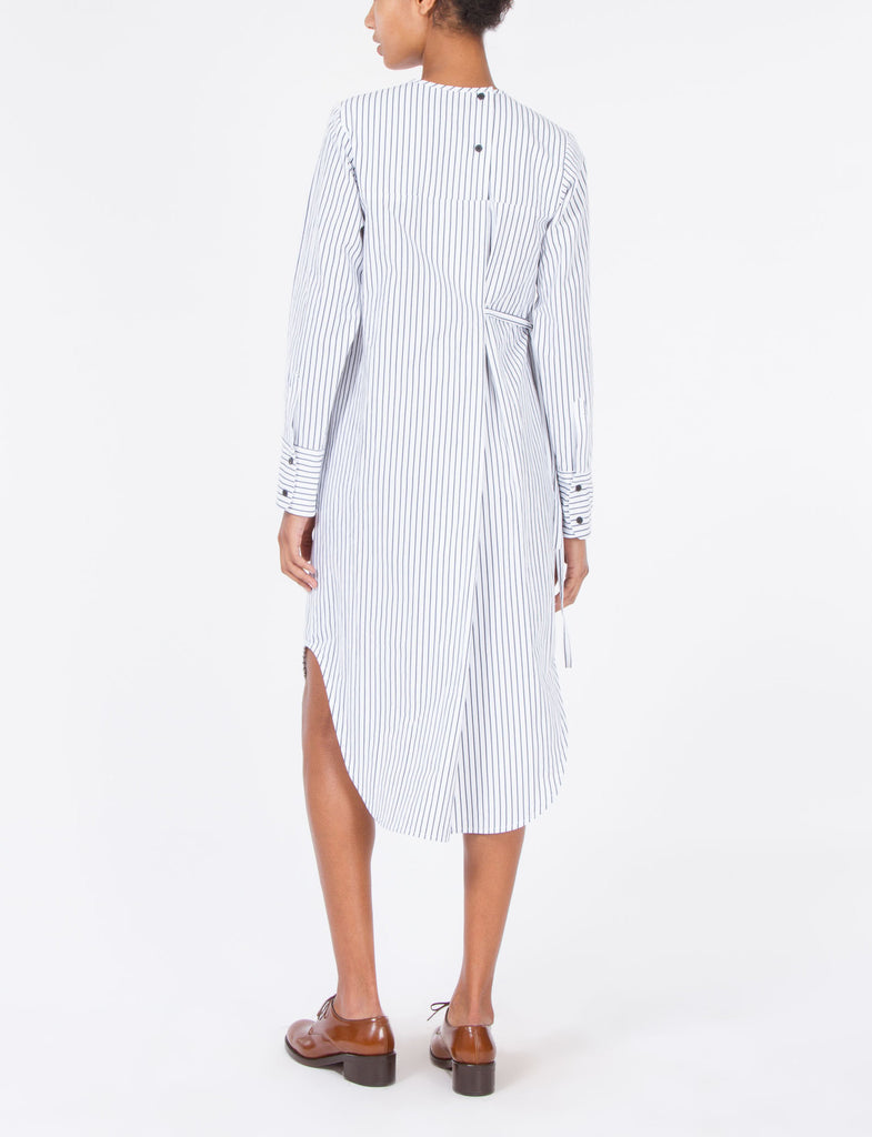 Temperly Dress Striped Shirting