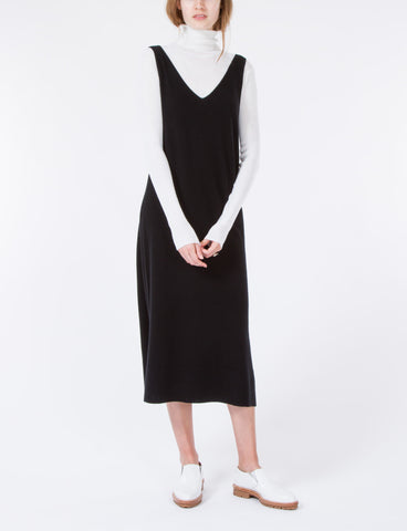 V-Neck Dress Cashmere