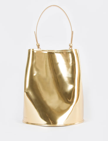 Bucket Bag Large Metallic