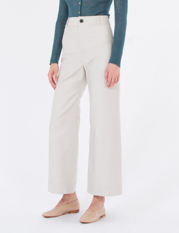 Maison Pant Brushed Cotton Twill
