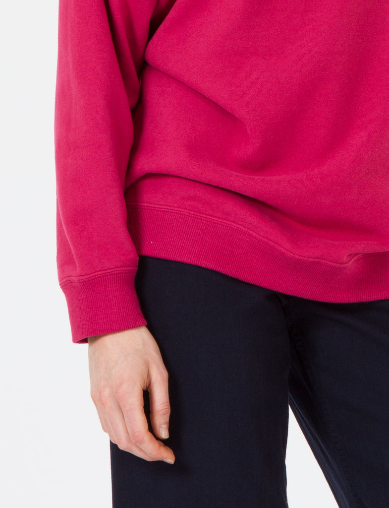 Oversized Crewneck French Terry