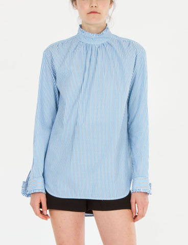 Sauza Top Striped Cotton