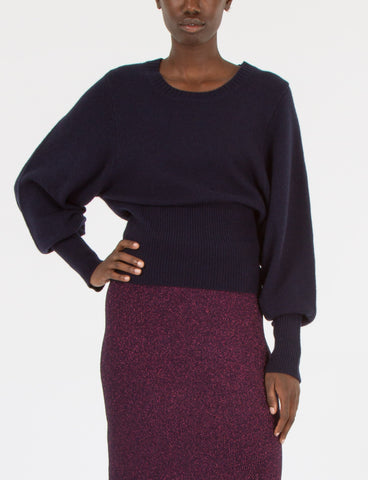 Scoop Cropped Sweater Cashmere