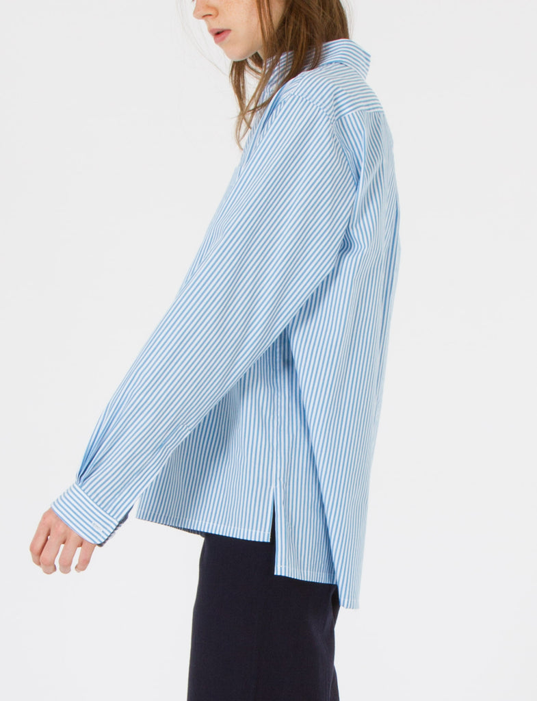 Sierra Top Striped Cotton