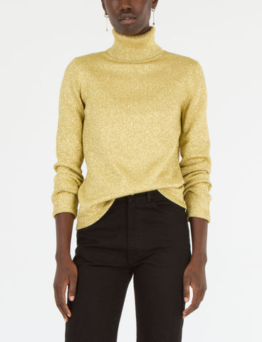 Slim Turtleneck Lurex