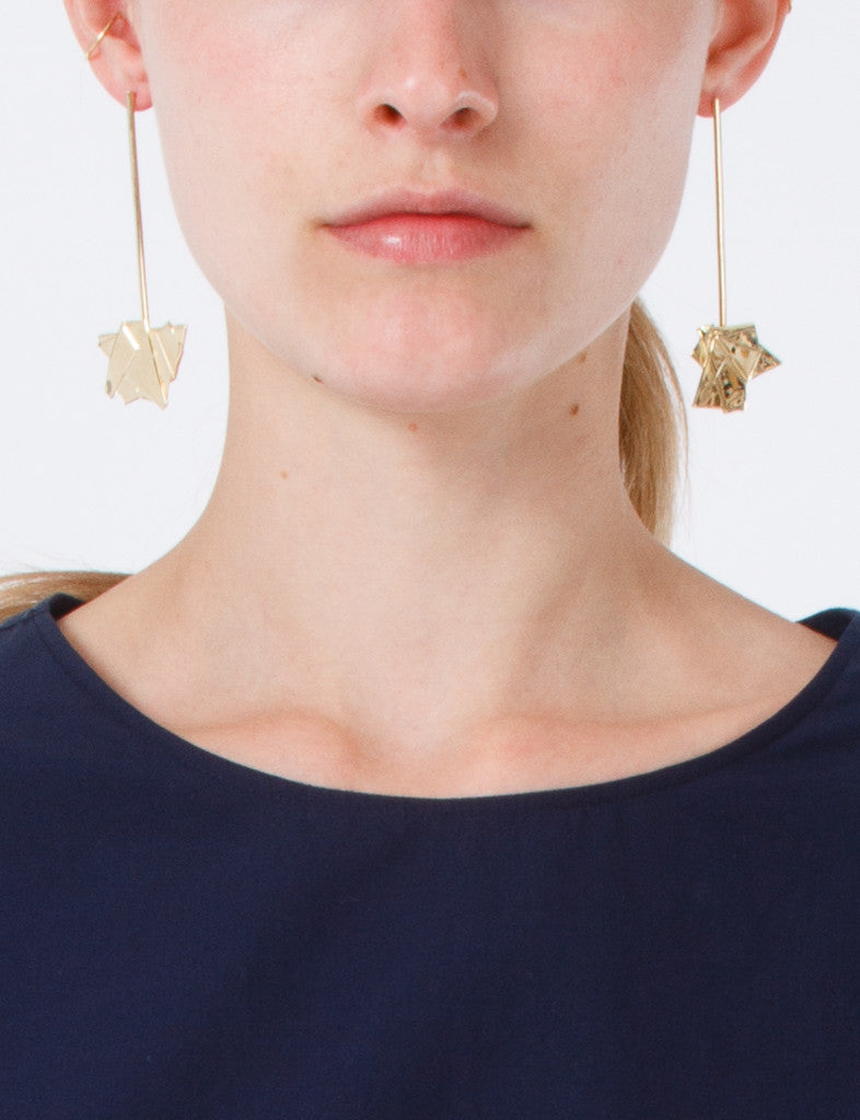Drop Earrings Gold Plated
