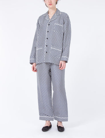 Pajama Set Mini Check