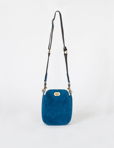 Boulder Bag Small Lamb Suede