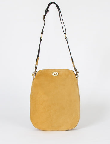 Boulder Bag Large Lamb Suede
