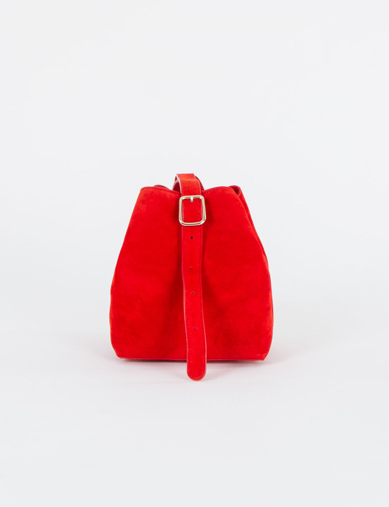 Apple Bag Small Suede
