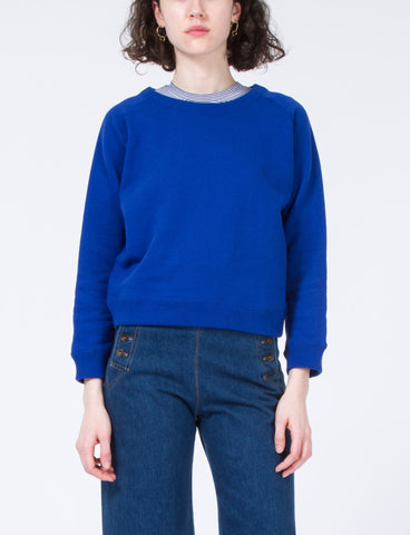 Shrunken Sweatshirt Cotton