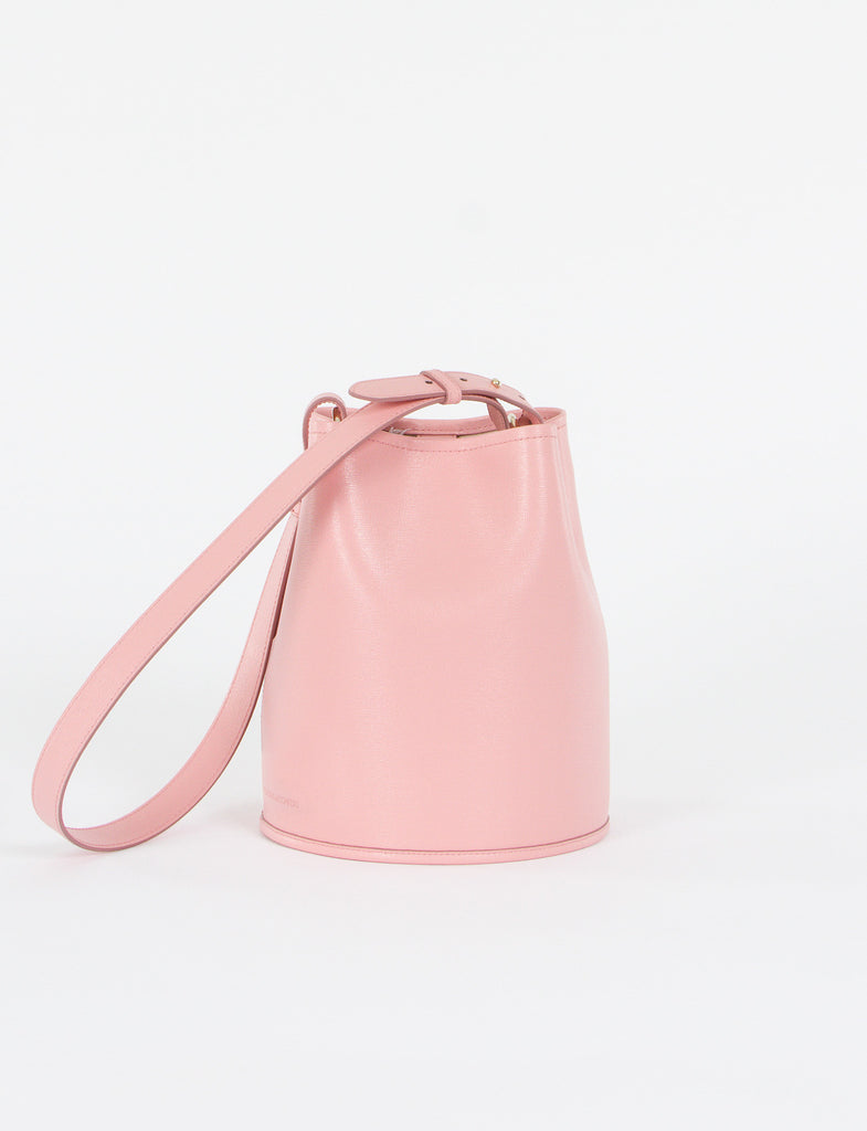 Bucket Bag Small Saffiano Leather