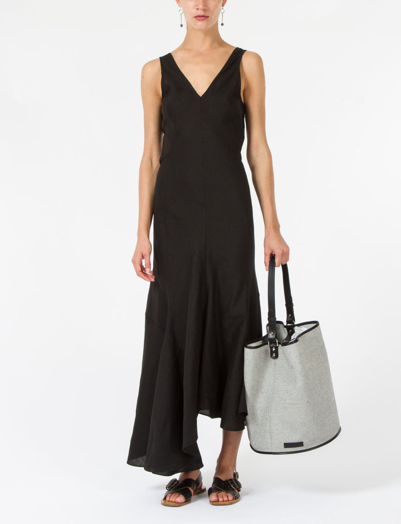 Calderon Dress Silk Linen