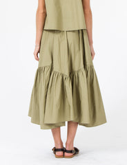 Carmen Skirt Cotton Broadcloth