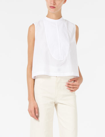Caroline Top Striped Voile Shirting