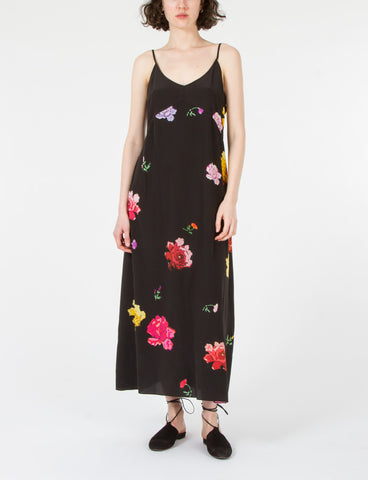 Creation Dress Floral Silk