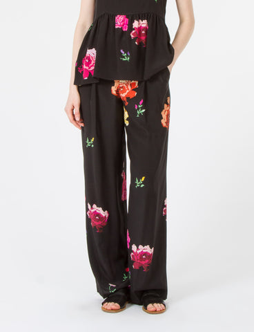 Harriette Pant Floral Silk